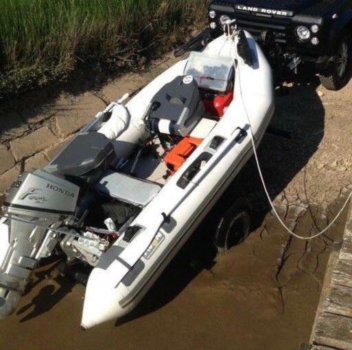 Honda Make A Payment >> Avon 310 Rib With Honda 10HP 4 Stroke Trailer And Cover ...