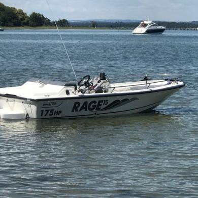 Boston Whaler Rage 15 Mercury 175hp Jet Boat P/x W H Y ???? for sale