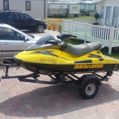 Sea-Doo Rx Jetski  Jet Ski   1000cc With A Problem  Trailer Included