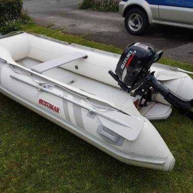 Suzumar DS310 - Inflatable Vib With Suzuki 5Hp Outboard