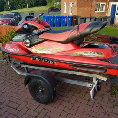 Seadoo Bombardier 951 Jet Ski 2004 for sale for £640 in UK